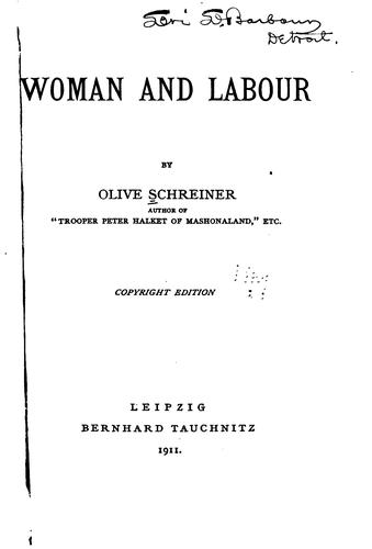 Woman and labour.