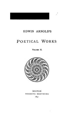 Download Poetical works, Vol. II