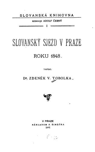 Download Slovanský sjezd v Praze roku 1848