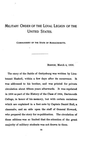 Download The Battle of Gettysburg.
