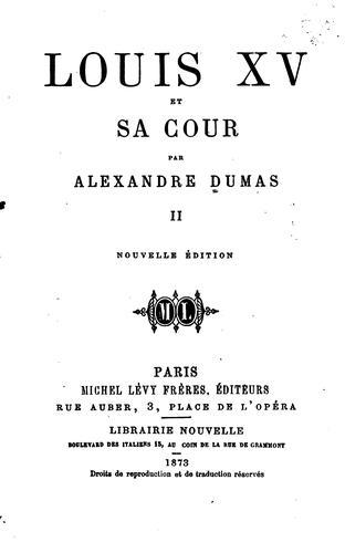 Louis XV et sa cour