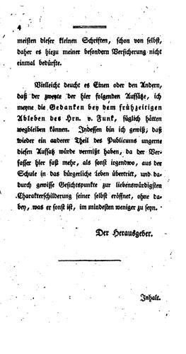 Sammlung einiger bisher unbekannt gebliebner kleiner Schriften