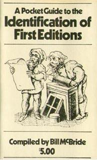 Download A pocket guide to the identification of first editions