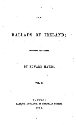 Download The ballads of Ireland
