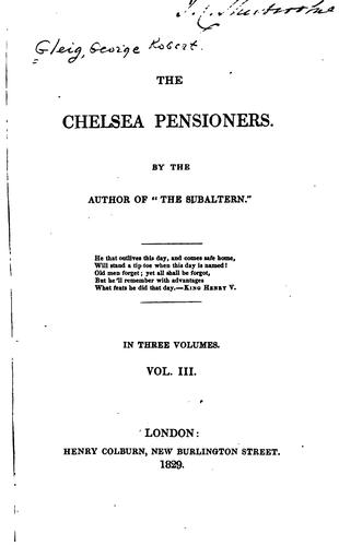 Download The Chelsea pensioners