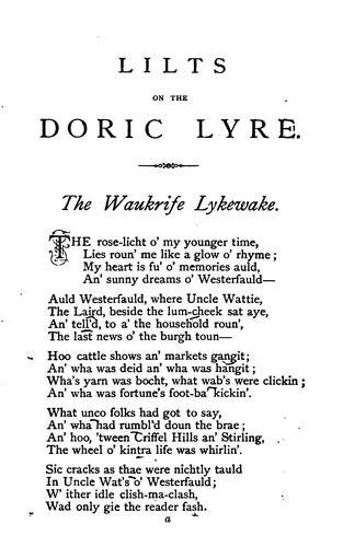 Download Lilts on the Doric lyre