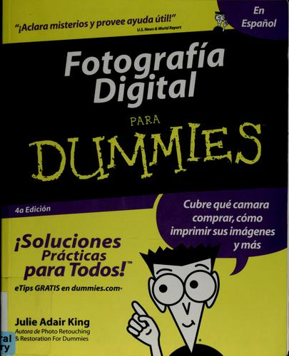 Download Fotografía digital para dummies