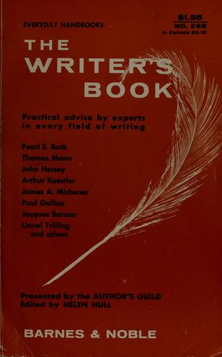 The writer's book.
