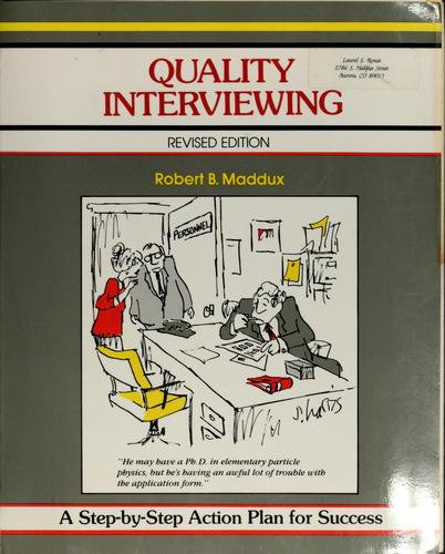 Download Quality interviewing