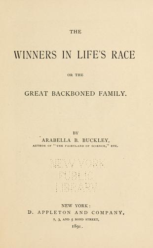 The winners in life's race