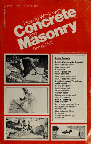 How to work with concrete and masonry