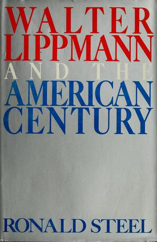 Download Walter Lippmann and the American Century