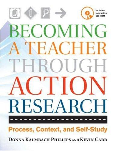Download Becoming a teacher through action research