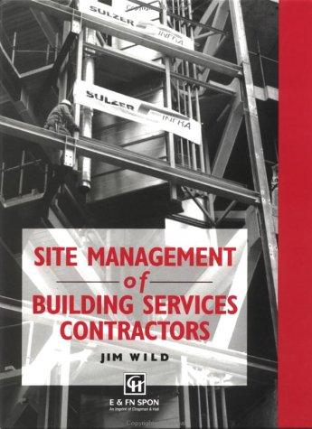 Download Site management of building services contractors