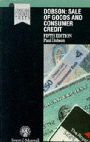 Sale of goods and consumer credit