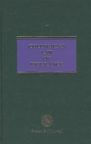 Download Colinvaux's law of insurance