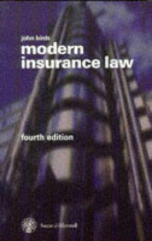 Download Modern Insurance Law