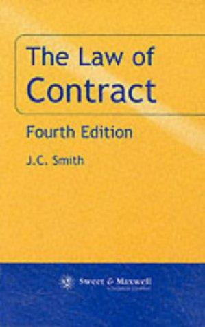 The Law of Contract (Fundamental Principles of Law)