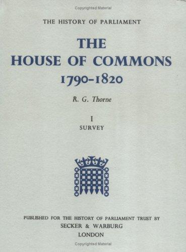 The House of Commons, 1790-1820