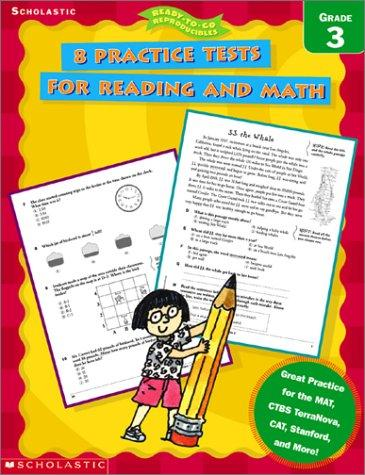 Download 8 Practice Tests for Reading and Math