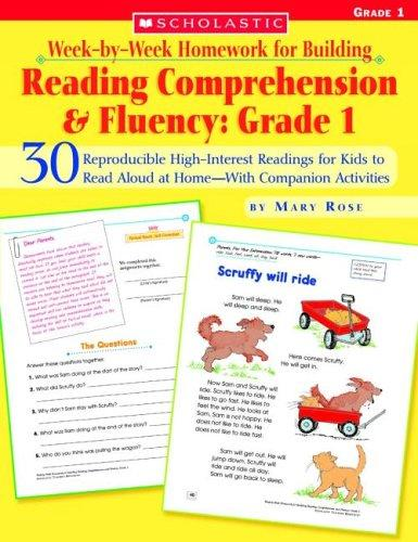 Download Week-by-Week Homework for Building Reading Comprehension & Fluency