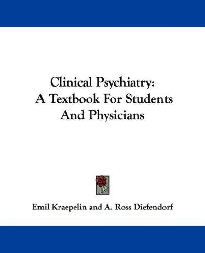 Download Clinical Psychiatry
