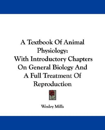 Download A Textbook Of Animal Physiology