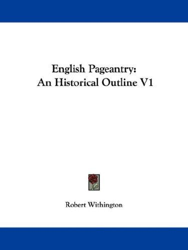 English Pageantry