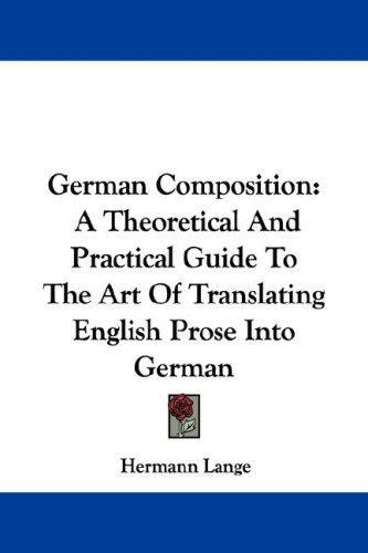 Download German Composition