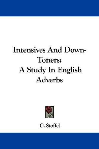 Download Intensives And Down-Toners