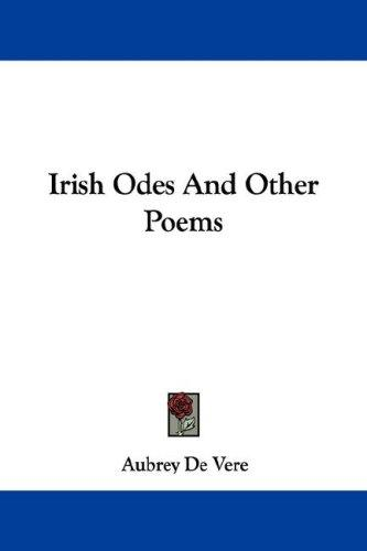 Download Irish Odes And Other Poems