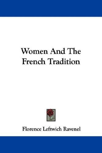 Download Women And The French Tradition