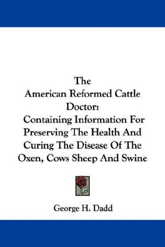 Download The American Reformed Cattle Doctor