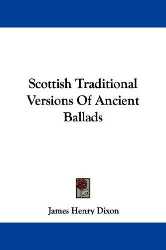 Download Scottish Traditional Versions Of Ancient Ballads