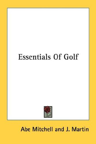 Download Essentials Of Golf