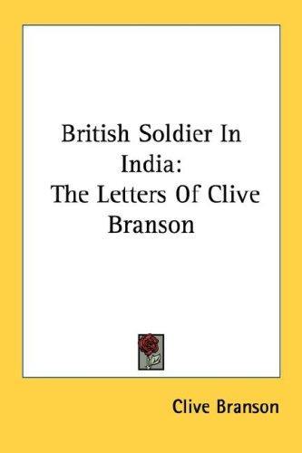 British Soldier In India