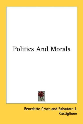 Politics And Morals