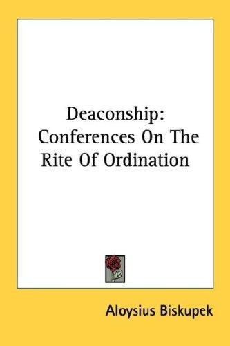 Deaconship