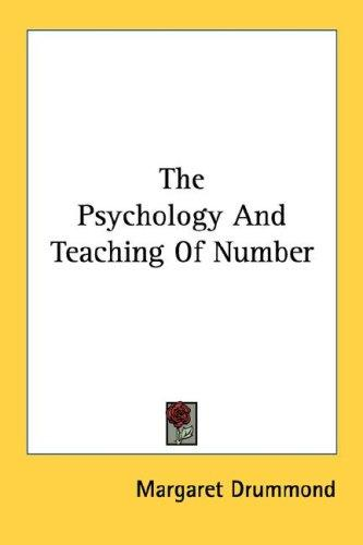 The Psychology And Teaching Of Number