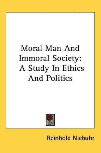 Download Moral Man And Immoral Society