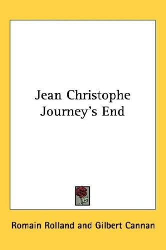 Jean Christophe Journey's End