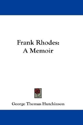 Download Frank Rhodes