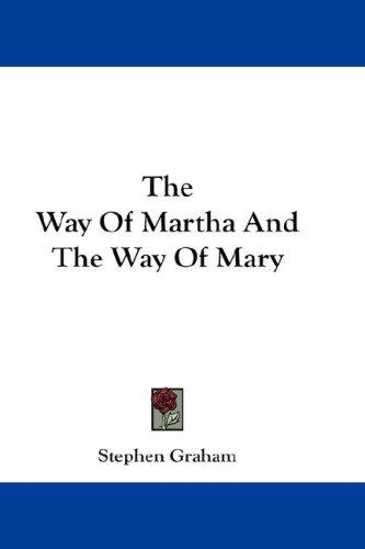 Download The Way Of Martha And The Way Of Mary