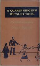 Download A Quaker singer's recollections