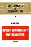 Image for Desert Sedimentary Environments, Volume 14 (Developments in Sedimentology)