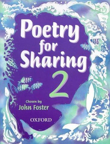 Poetry for Sharing (Books for Sharing)