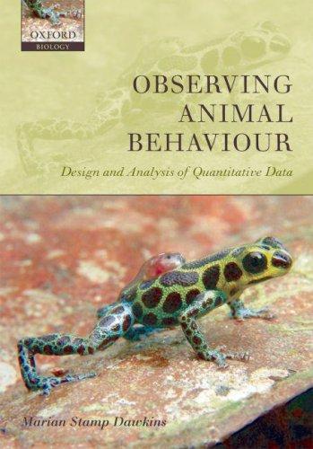 Download Observing Animal Behaviour