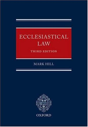 Download Ecclesiastical Law
