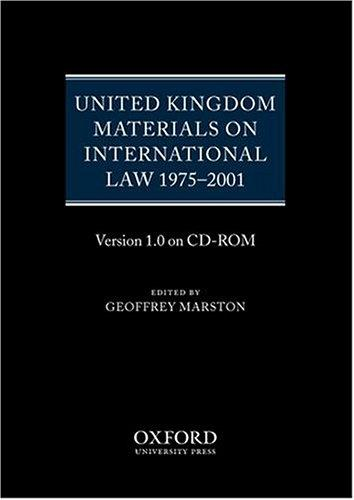 Download United Kingdom Materials on International Law 1975-2001