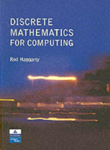 Discrete Mathematics for Computing, Haggarty, Rod